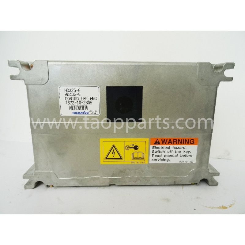 Bloc de commande [usagé|usagée] Komatsu 7872-10-2305 pour HD325-6 · (SKU: 1684)