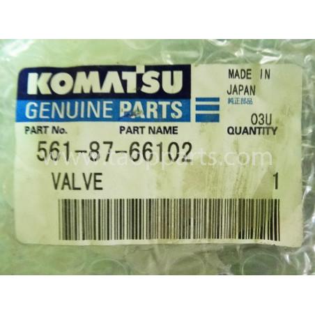 Valvula Komatsu 561-87-66102 para HD465-5 · (SKU: 1692)