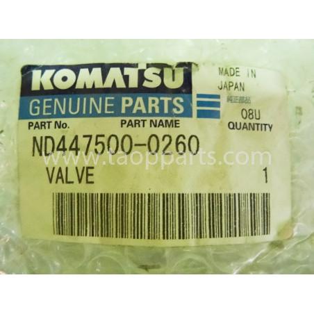 Solenoide Komatsu ND447500-0260 para WA320-1 · (SKU: 1699)