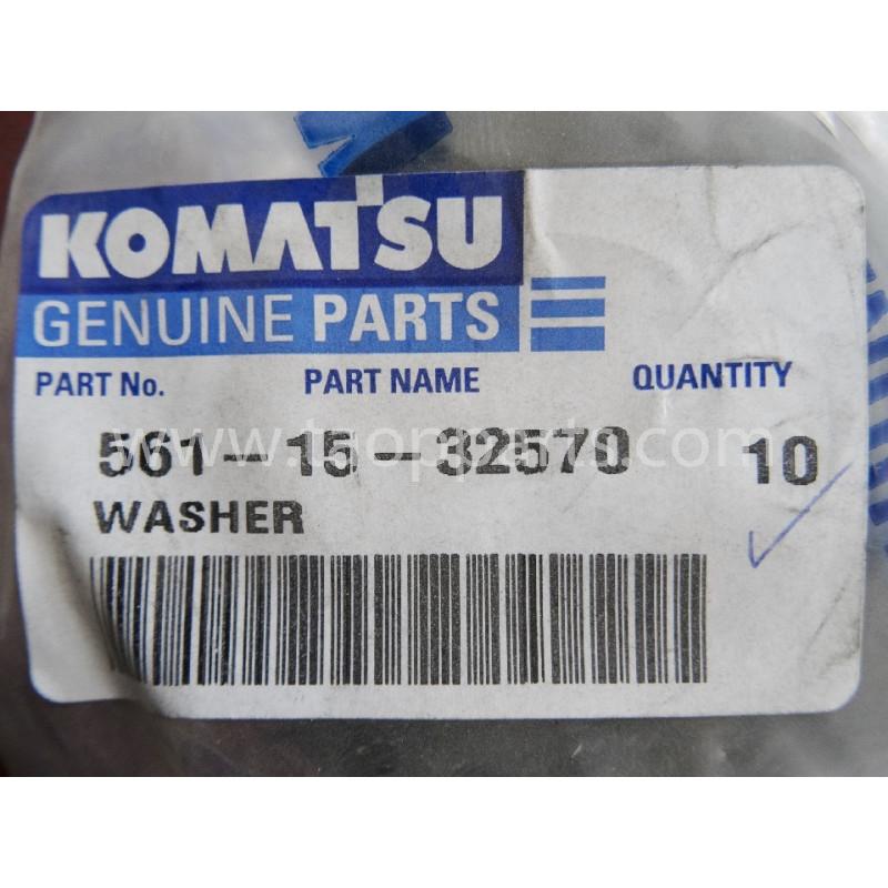 Rondelle Komatsu 561-15-32570 pour HD785-5 · (SKU: 1718)