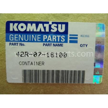 Deposito agua Komatsu 42R-07-16100 para WA70-5 · (SKU: 1740)