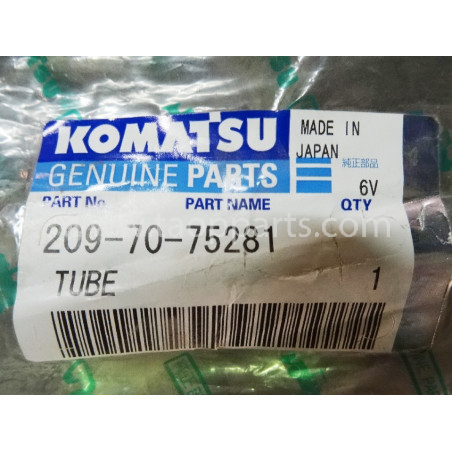 Komatsu Pipe 209-70-75281 for PC800-8 · (SKU: 1747)