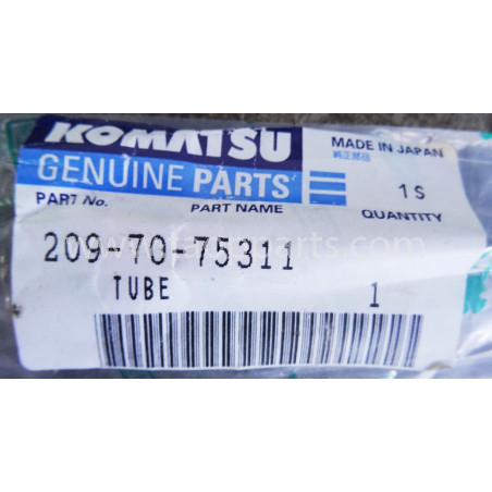 Komatsu Pipe 209-70-75311 for PC 210-8 · (SKU: 1754)