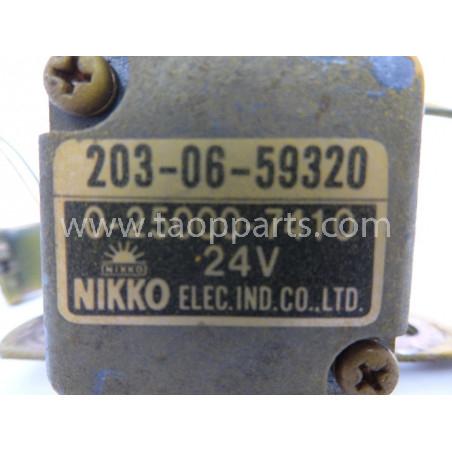 Rele Komatsu 203-06-59320 para PC290-6 · (SKU: 1923)