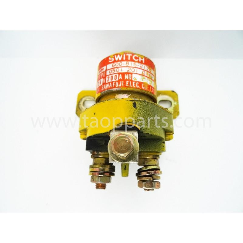 Interrupteur Komatsu 600-815-2170 pour Pelle sur chenille PC290-6 · (SKU: 1924)