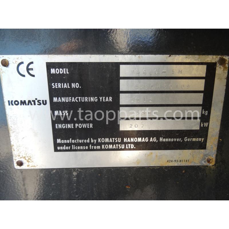 Pala Cargadora Komatsu WA480-5