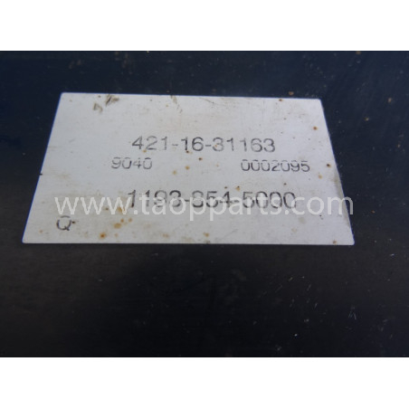 Enfriador del convertidor Komatsu 421-16-31163 para WA470-5 · (SKU: 2117)