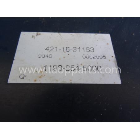 Komatsu Converter cooler 421-16-31163 for WA470-5 · (SKU: 2117)