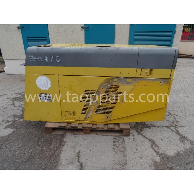 Capot 421-54-21110 pour Chargeuse sur pneus Komatsu WA470-3 · (SKU: 2213)
