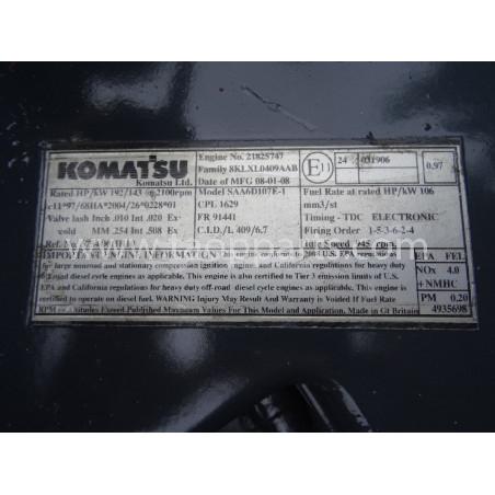 Moteur Komatsu 6754-D0-HH10 pour WA380-6 · (SKU: 1956)