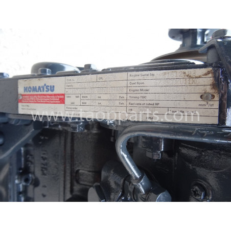 Komatsu Engine SAA6D102E-2 for PC210-7 · (SKU: 1605)