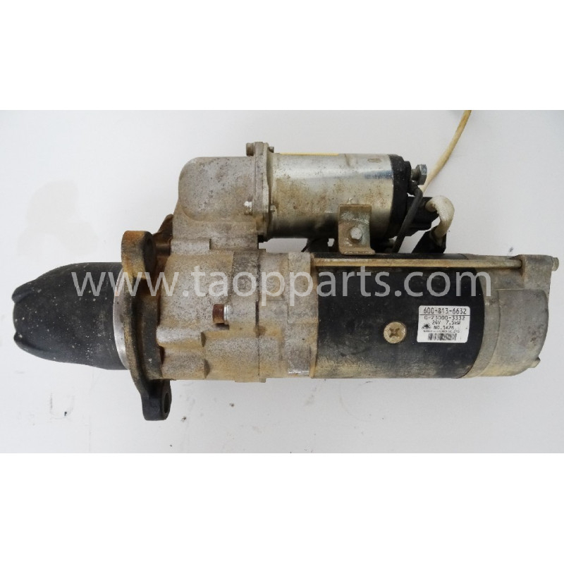 Komatsu Electric motor 600-813-6632 for WA480-5 · (SKU: 2518)