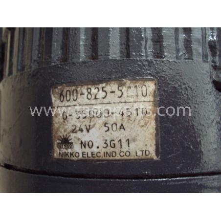 Alternador usado Komatsu 600-825-5210 para WA500-3 · (SKU: 322)