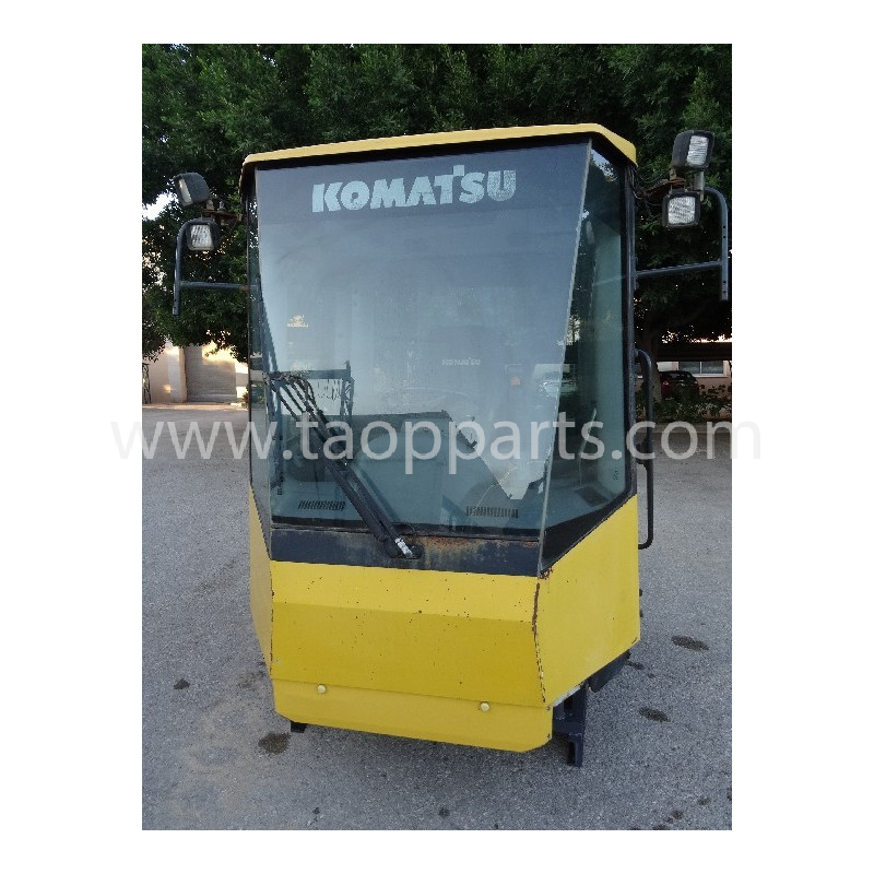 Cab 421-56-H3A10 for Komatsu Wheel loader WA480-5 · (SKU: 2033)