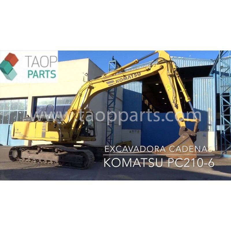 Excavadora de cadenas Komatsu PC210LC-6