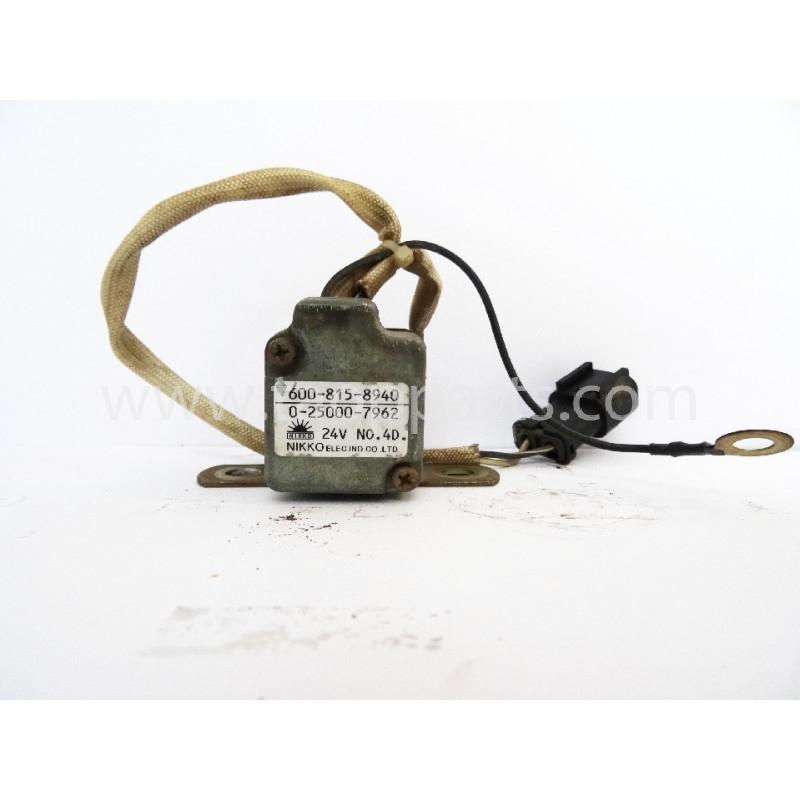 Rele Komatsu 600-815-8940 para WA600-1 · (SKU: 2766)