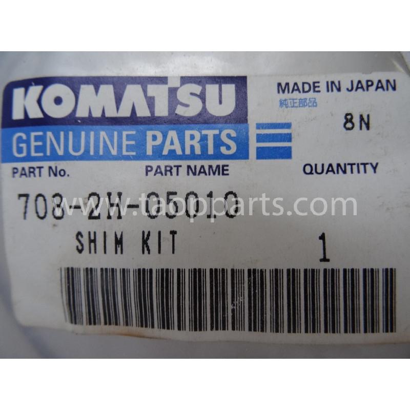 Laminas de ajuste Komatsu 708-2H-05010 para maquinaria · (SKU: 2820)