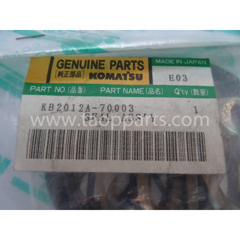 Retenes Komatsu KB2012A-70003 para maquinaria · (SKU: 2830)