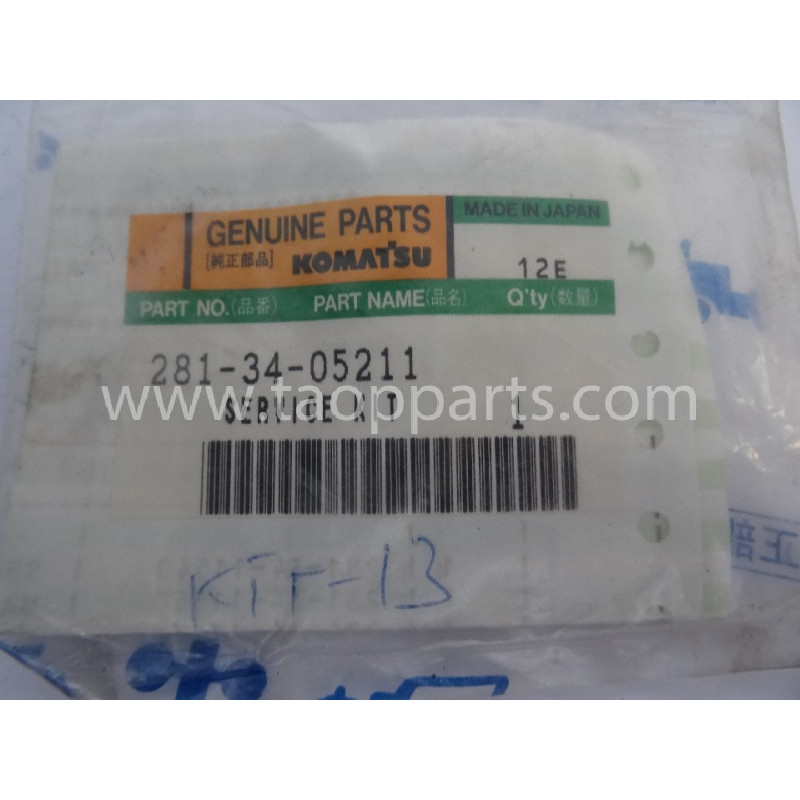 Retenes Komatsu 281-34-05211 para maquinaria · (SKU: 2844)