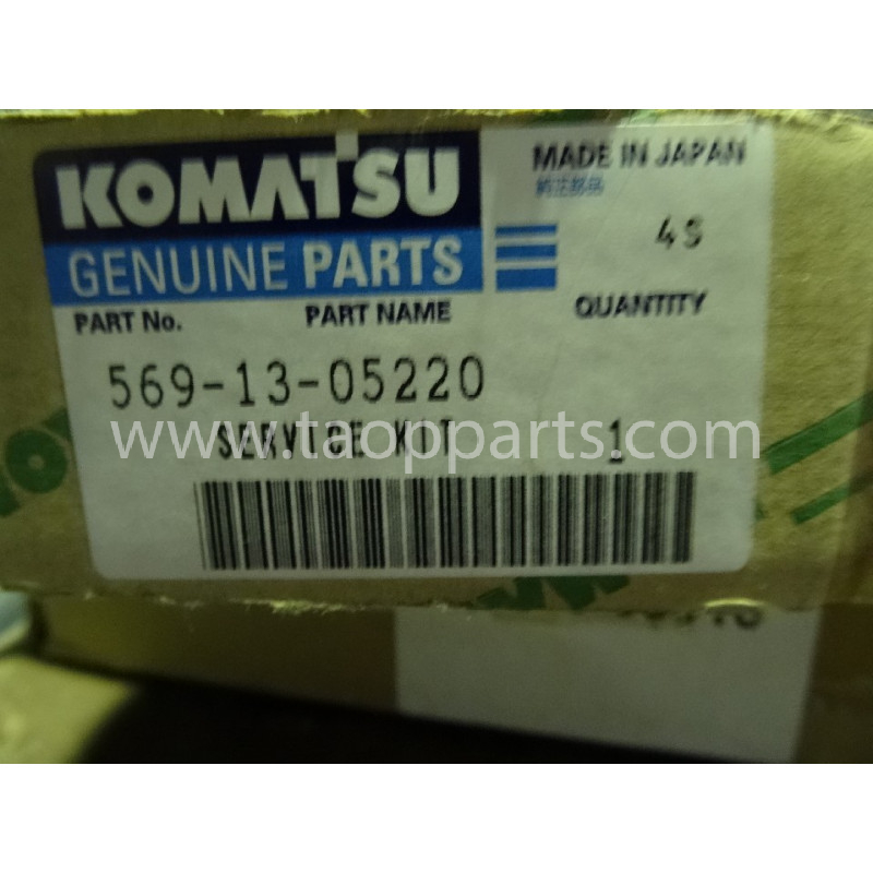 Kit de servicio Komatsu 569-13-05220 para maquinaria · (SKU: 2852)