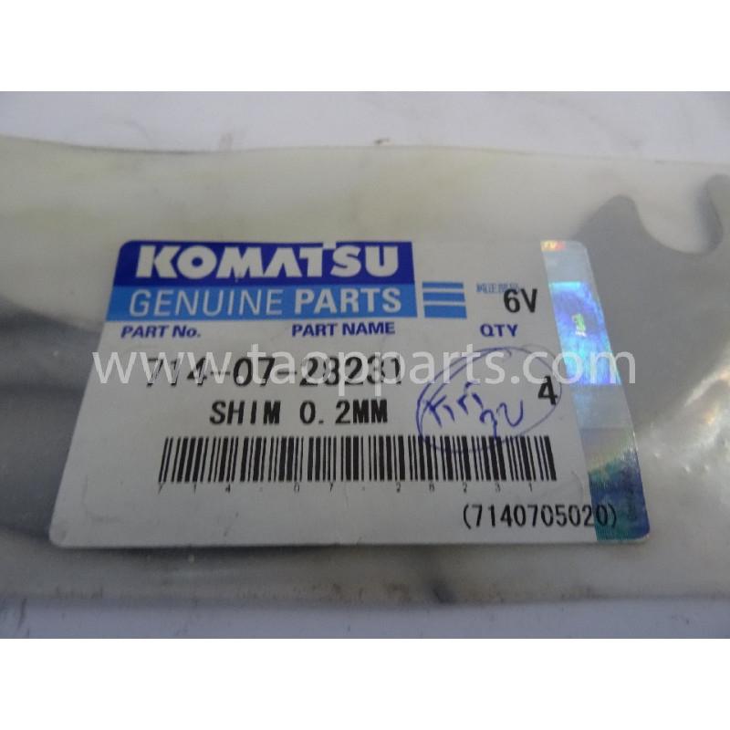 Laminas de ajuste Komatsu 714-07-28231 para maquinaria · (SKU: 2854)