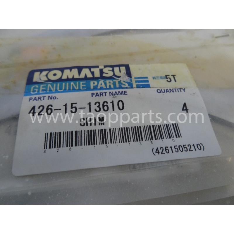 Laminas de ajuste Komatsu 426-15-13610 para maquinaria · (SKU: 2858)