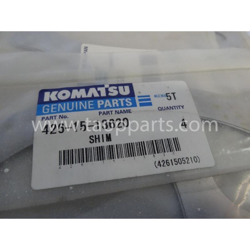 Laminas de ajuste Komatsu 426-15-13620 para maquinaria · (SKU: 2859)