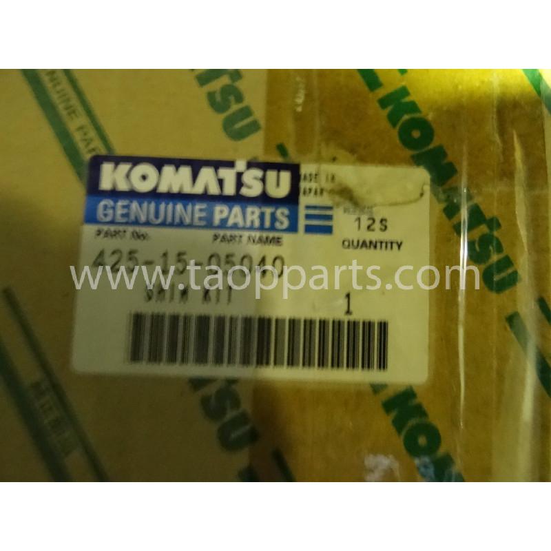 Laminas de ajuste Komatsu 425-15-05040 para maquinaria · (SKU: 2880)