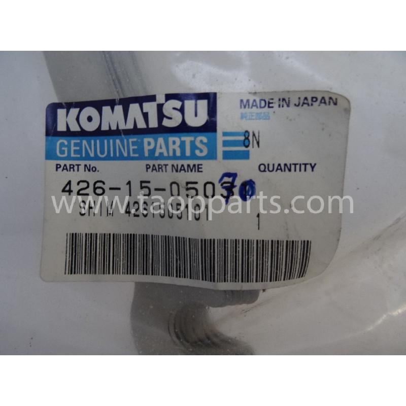 Laminas de ajuste Komatsu 426-15-05070 para maquinaria · (SKU: 2885)