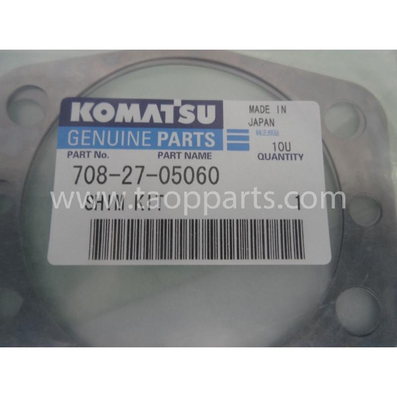 Laminas de ajuste Komatsu 708-27-05060 para maquinaria · (SKU: 2900)