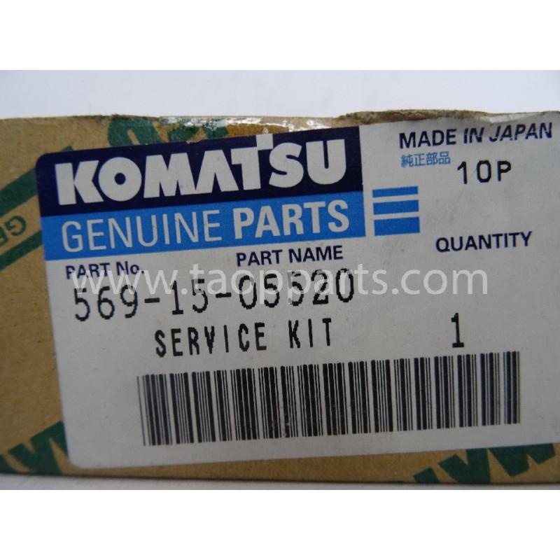 Kit de servicio Komatsu 569-15-05520 para maquinaria · (SKU: 2903)