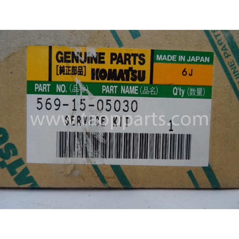 Kit de servicio Komatsu 569-15-05030 para maquinaria · (SKU: 2904)