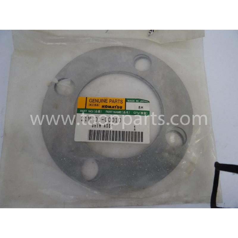 Laminas de ajuste Komatsu 21N-01-00010 para maquinaria · (SKU: 2924)