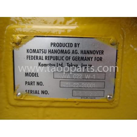 EJE Komatsu 421-22-20001 para WA470-3 · (SKU: 2003)