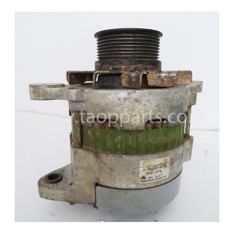Komatsu Alternator 600-861-6110 for WA380-5H · (SKU: 3289)