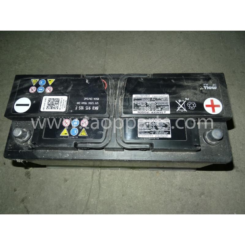Batería Komatsu 885010005 para WB91R · (SKU: 3730)