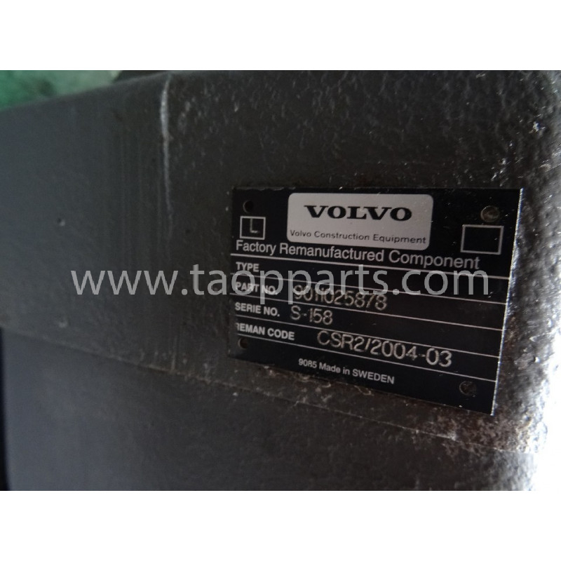 Volvo Pump 11025878 for L150C · (SKU: 3859)