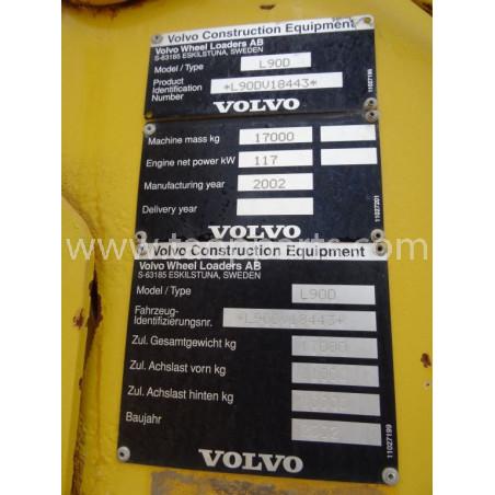 Pala Cargadora Volvo L90D