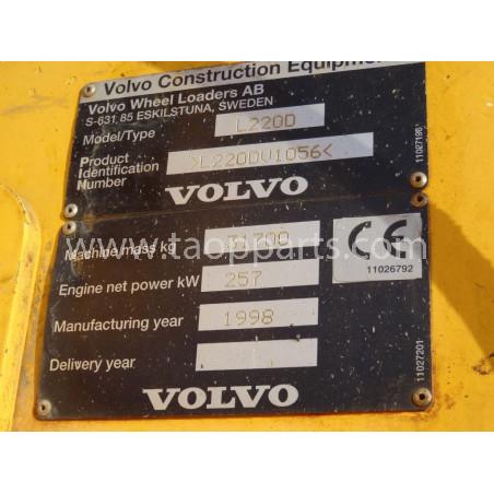 Pala Cargadora Volvo L220D