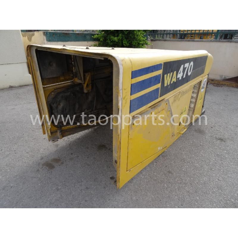 Capot Komatsu 421-54-H1A01 pour Chargeuse sur pneus WA470-5 · (SKU: 4091)