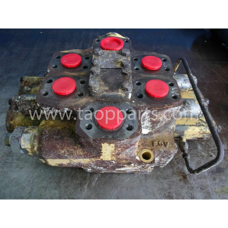 Distributeur Komatsu 709-12-13100 pour WA470-3 · (SKU: 4336)