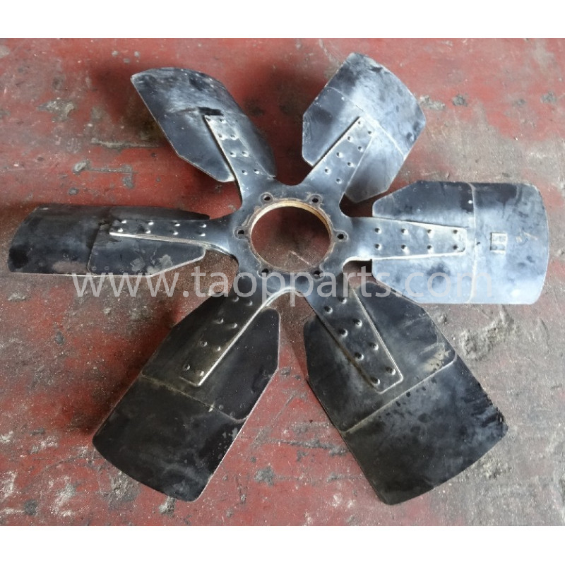 Ventilador usado Komatsu 600-633-9060 para WA500-3 · (SKU: 4558)