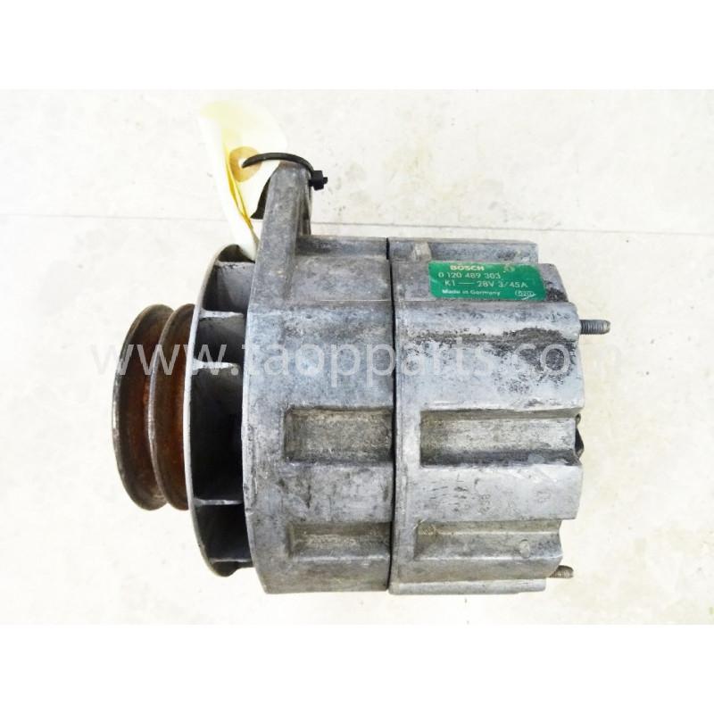 Alternador 873757 para Pala cargadora de neumáticos Volvo L220D · (SKU: 4650)