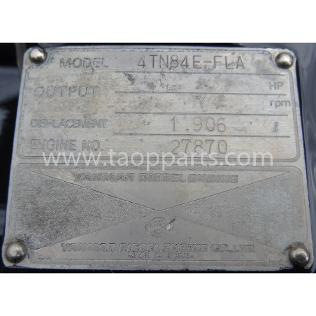 MOTOR Komatsu 871070006 pentru SK815 · (SKU: 4711)