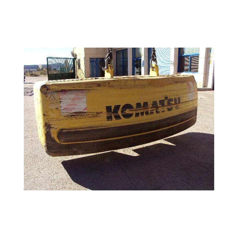 Komatsu Counterweight 208-46-K2500 for PC450-6 ACTIVE PLUS · (SKU: 518)