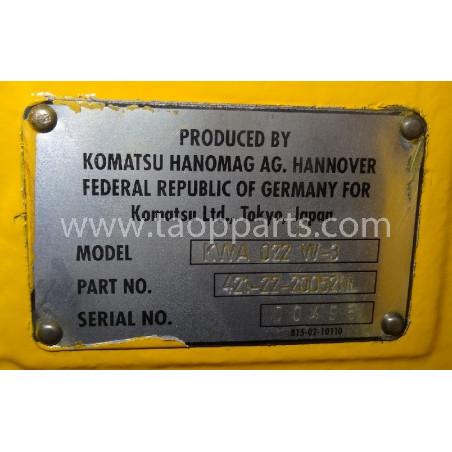 EJE Komatsu 421-22-20052 para WA470-3H · (SKU: 4513)