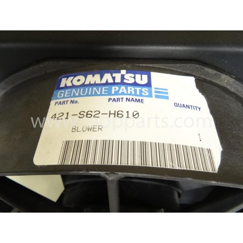 Ventilador sist. elétrico Komatsu 421-S62-H610 WA470-3H · (SKU: 4820)