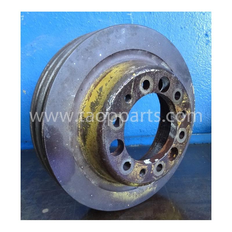 Polia ventilador Komatsu 17A-03-17112 D155A-3 · (SKU: 5057)