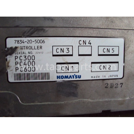 Bloc de commande Komatsu 7834-20-5006 pour Pelle sur chenille PC450-6 ACTIVE PLUS · (SKU: 537)