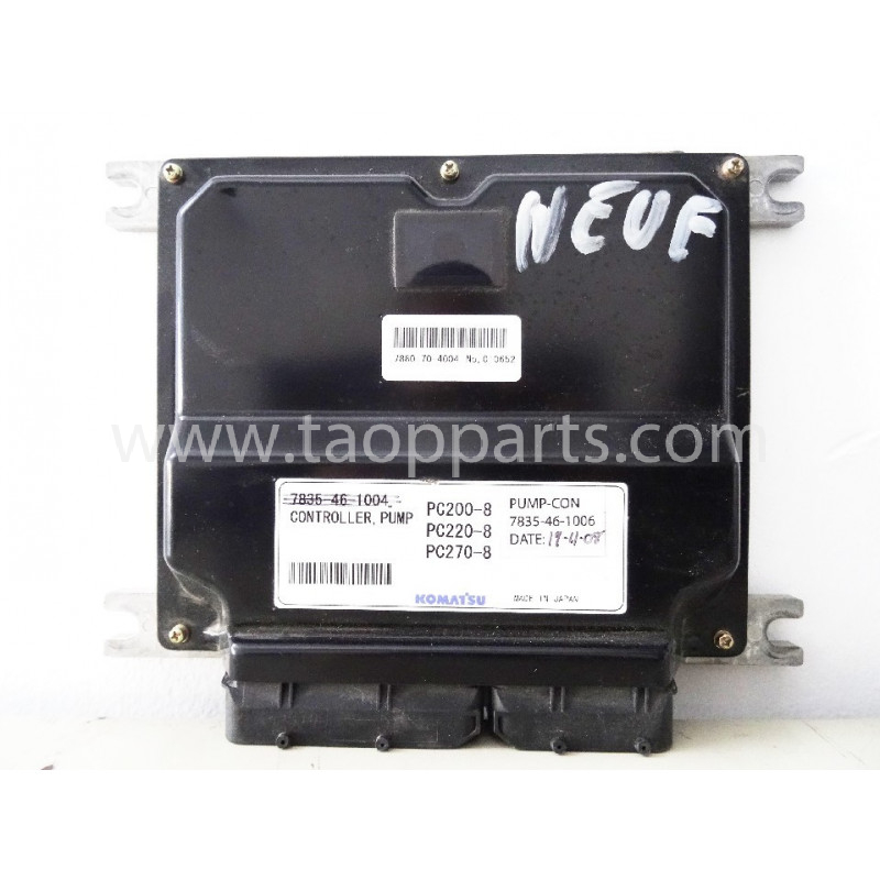 Komatsu Controller 7835-46-1006 for PC240NLC-8 · (SKU: 5343)